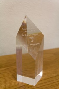 The Norman Sheppard Award
